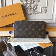 Louis Vuitton M60017 Zippy Wallet Monogram