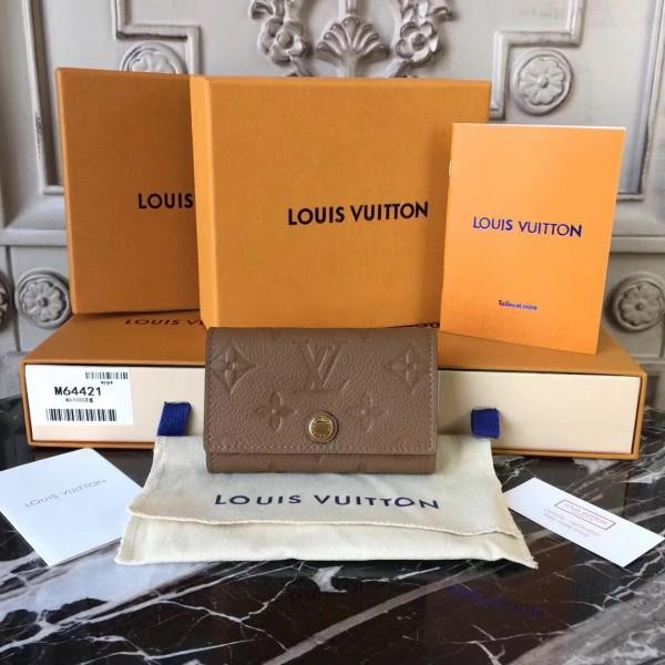 5b115cdac2d4 Louis Vuitton M64421 6 KEY HOLDER Monogram Empreinte Leather