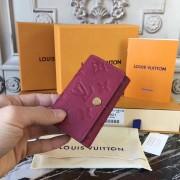 Louis Vuitton M64421 6 KEY HOLDER Monogram Empreinte Leather