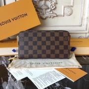 Louis Vuitton N60015 Zippy Wallet Damier Ebene Canvas