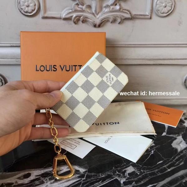 223c4967a9e Louis Vuitton N62659 Key Pouch Damier Azur Canvas