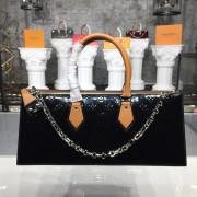 Louis Vuitton M44371 Sac Tricot Monogram Vernis Leather