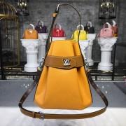 Louis Vuitton M52803 Twist Bucket Epi Leather Safran