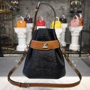 Louis Vuitton M52804 Twist Bucket Epi Leather Black