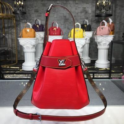 Louis Vuitton M52927 Twist Bucket Epi Leather Rouille