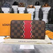 Louis Vuitton N60145 Zippy Wallet Damier Ebene