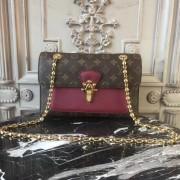 Louis Vuitton M41732 Victoire Monogram Canvas and Leather Handbag Raisin