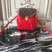 Louis Vuitton M53545 Hot Springs Backpack Patent Leather Cherry