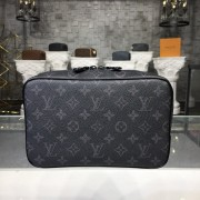 Louis Vuitton M43383 Toilet Pouch GM Monogram Eclipse Canvas