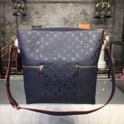 Louis Vuitton M44012 MÉLIE Monogram Empreinte Leather Marine rouge