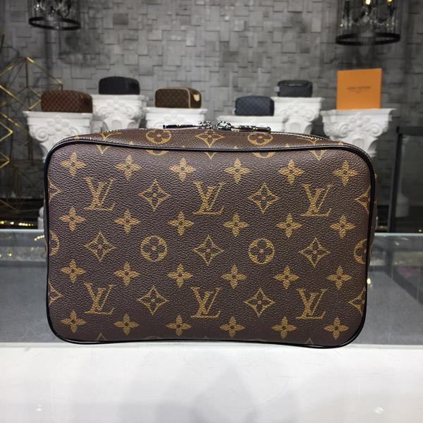 Louis Vuitton M47506 Toilet Pouch Gm Monogram Macassar