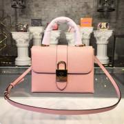 Louis Vuitton M52879 Locky BB Epi Leather Rose Ballerine