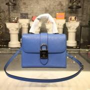 Louis Vuitton M53159 Locky BB Epi Leather Bleu Jean