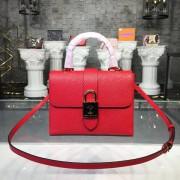 Louis Vuitton M53239 Locky BB Epi Leather Coquelicot