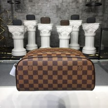 Louis Vuitton N47527 King Size Toiletry Bag Damier Ebene