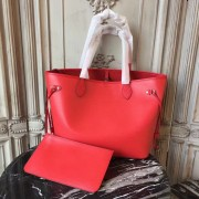 Louis Vuitton M41159 Neverfull MM Epi Leather Coquelicot