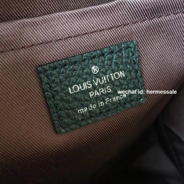 2cc463a654 Louis Vuitton M42687 Armand Backpack Taurillon Leather