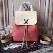 Louis Vuitton M44250 Lockme Backpack Vieux Rose Sesame Creme