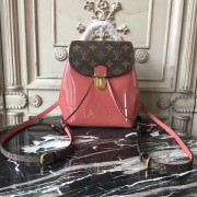 Louis Vuitton M53545 Hot Springs Backpack Patent Leather Vieux Rose