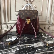Louis Vuitton M53545 Hot Springs Backpack Patent Leather Amarante