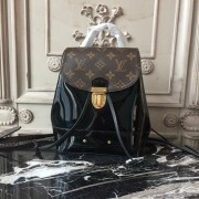 Louis Vuitton M53545 Hot Springs Backpack Patent Leather Black