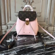 Louis Vuitton M53545 Hot Springs Backpack Patent Leather Rose Ballerine