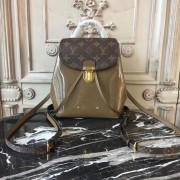 Louis Vuitton M54389 Hot Springs Backpack Patent Leather Vert Bronze
