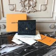 Louis Vuitton M64148 ARIANE WALLET Monogram Empreinte Leather Noir