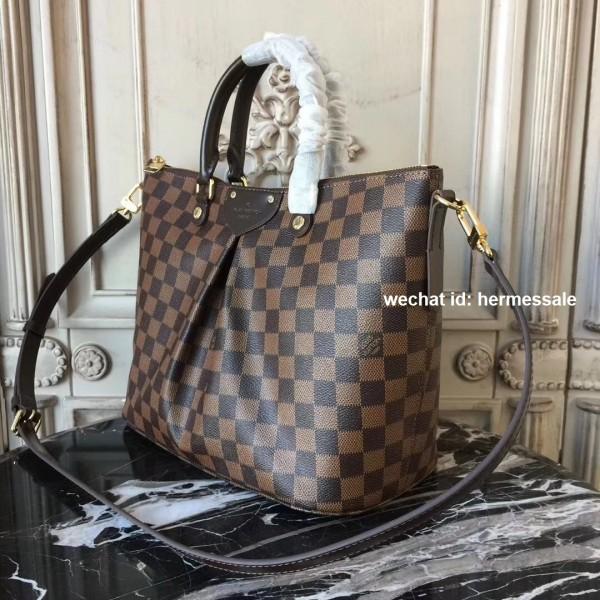 e39e3c35b5 Louis Vuitton N41546 Siena MM Damier Ebene Canvas