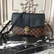 Louis Vuitton N44243 Clapton Damier Ebene Canvas Noir