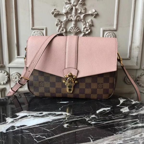 f8a133cee Louis Vuitton N44244 Clapton Damier Ebene Canvas Magnolia