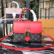 Louis Vuitton M44322 Locky BB Monogram Canvas Coquelicot