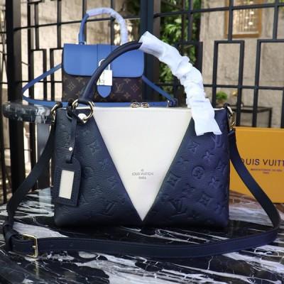 Louis Vuitton M44418 V Tote BB Monogram Empreinte Leather Noir