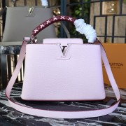 Louis Vuitton M52388 Capucines PM Capucines Bubble Gum