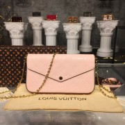 Louis Vuitton M64358  Pochette Félicie Monogram Vernis Leather