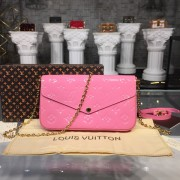 Louis Vuitton M64358-1  Pochette Félicie Monogram Vernis Leather