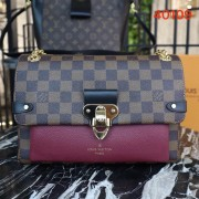 Louis Vuitton N40109 Vavin PM Damier Ebene Canvas Bordeaux