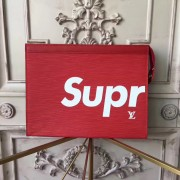 Louis Vuitton x Supreme Clutch Epi Red M41366