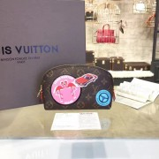 Louis Vuitton M41439 Cosmetic Pouch PM Monogram Canvas