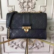 Louis Vuitton M43392 Saint Sulpice PM Monogram Empreinte Leather Noir