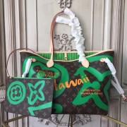 Louis Vuitton M44198 Neverfull MM Monogram Canvas