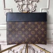 Louis Vuitton M64034 Pochette Tuileries Monogram Black