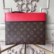 Louis Vuitton M64034 Pochette Tuileries Monogram Cherry