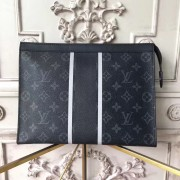 Louis Vuitton M64440 Pochette Voyage Mm Monogram Eclipse Flash