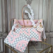 Louis Vuitton N41050 Neverfull MM Damier Azur Canvas
