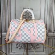 Louis Vuitton N41052 Speedy bandoulière 30 Damier Azur Canvas