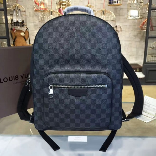 11baa77268cd Louis Vuitton N41473 Josh Backpack Damier Graphite Canvas
