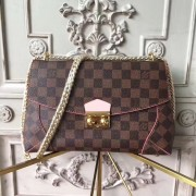 Louis Vuitton N41597 Caissa Clutch Damier Ebene Canvas