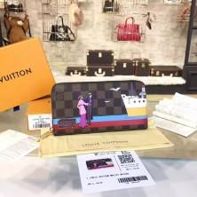 Louis Vuitton N41665 Zippy Wallet Damier Ebene