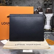 Louis Vuitton M30043 Pochette Voyage GM Taiga Leather
